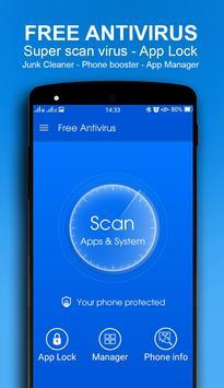 Free Antivirus poster