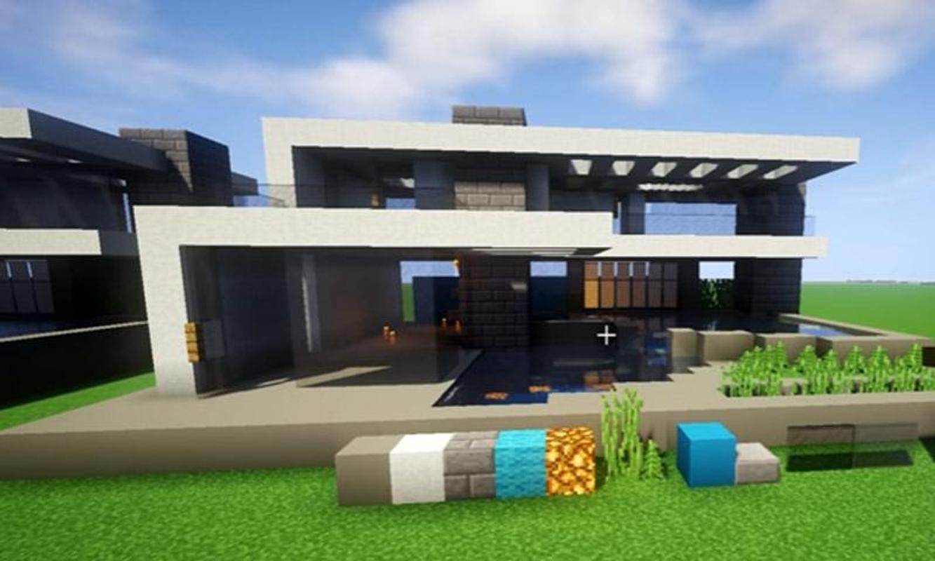 Modern house ide for minecraft video تصوير الشاشة 3