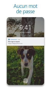 Microsoft Authenticator capture d'écran 1
