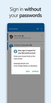 Microsoft Authenticator poster