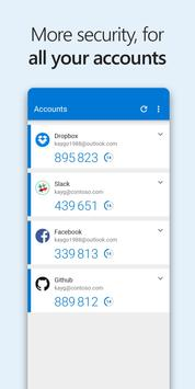 Microsoft Authenticator screenshot 3