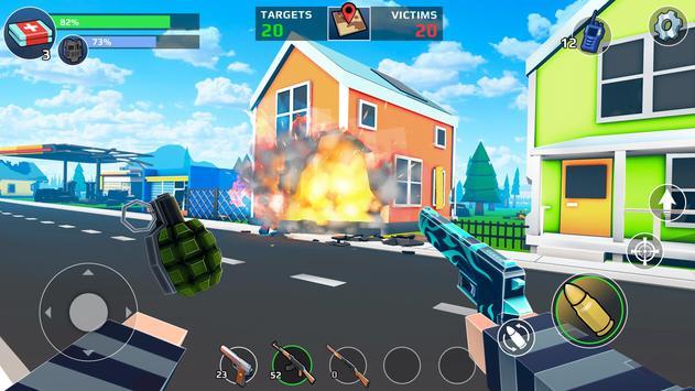 PIXEL'S UNKNOWN BATTLE GROUND capture d'écran 7