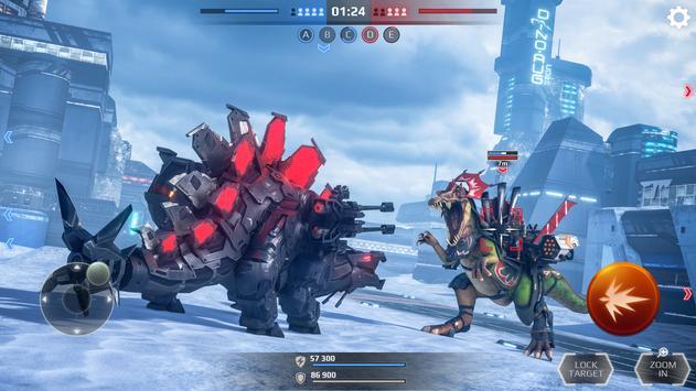 Jurassic Monster World: Dinosaur War 3D FPS تصوير الشاشة 19