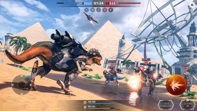 Jurassic Monster World: Dinosaur War 3D FPS screenshot 1