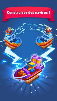Merge Ship: Idle Tycoon Affiche