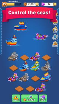 Merge Ship: Idle Tycoon screenshot 9