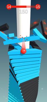 لعبة سقوط الكرة - فجر المنصات تصوير الشاشة 5