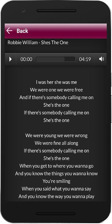 Top Music Mp3 Lyrics For Android Apk Download