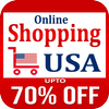 USA Online Shopping, Buy Best Deals & Discounts 아이콘
