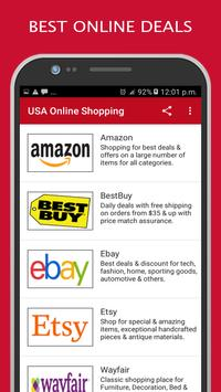 USA Online Shopping, Buy Best Deals & Discounts poster