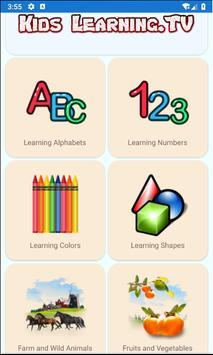 Kids TV -  Preschool education and Fun videos poster