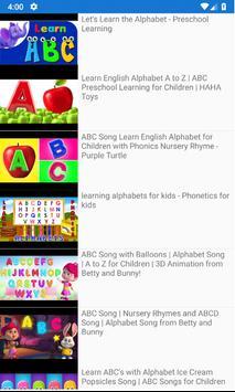 Kids TV -  Preschool education and Fun videos screenshot 3