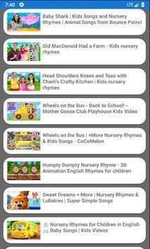 Kids TV -  Preschool education and Fun videos screenshot 1