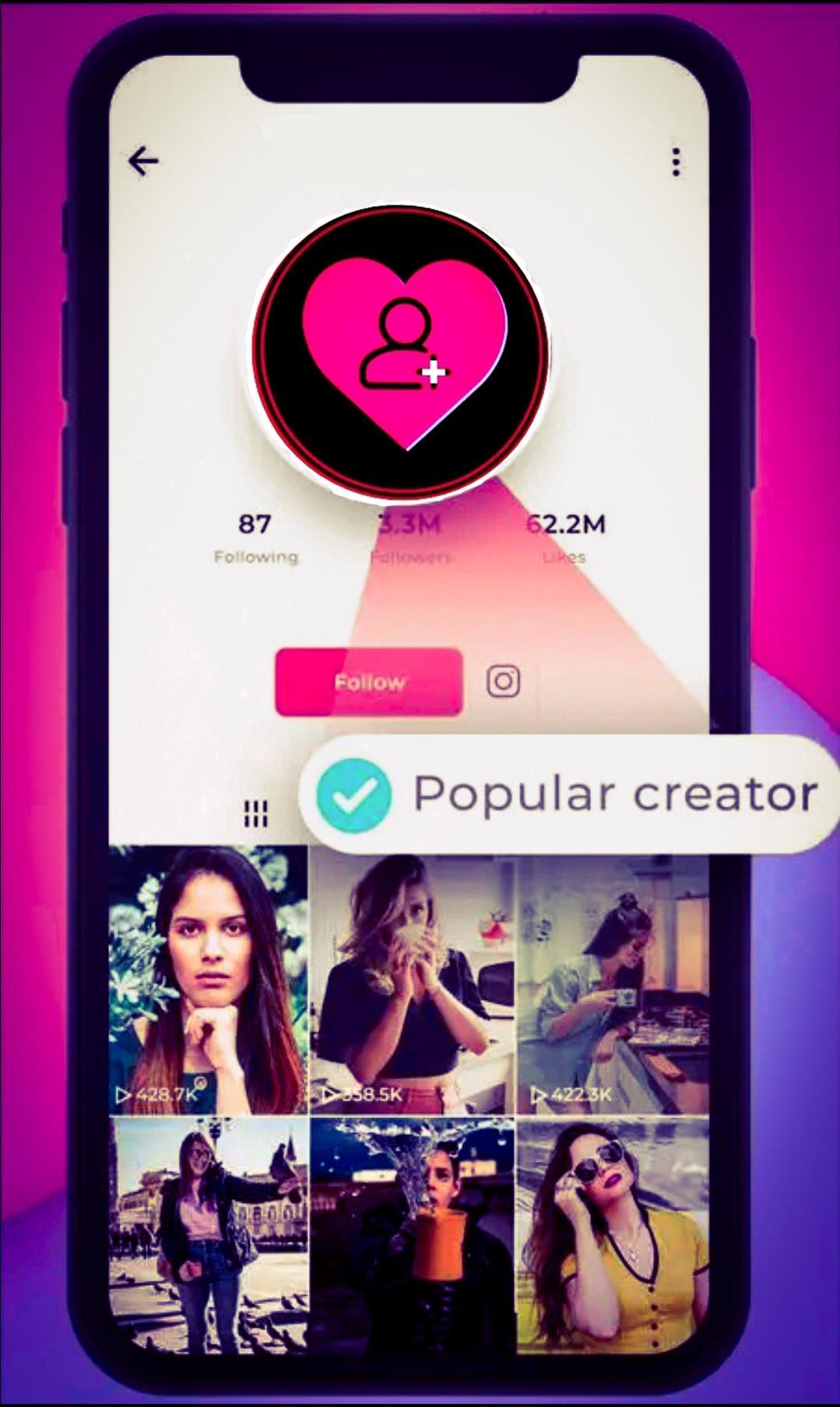 Tikpro Free Tiktok Followers Tiktok Likes For Android Apk Download