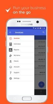 Invoice Maker: Estimate & Invoice App screenshot 1