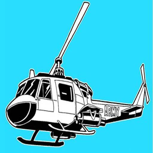 كيفية رسم طائرة هليكوبتر 9