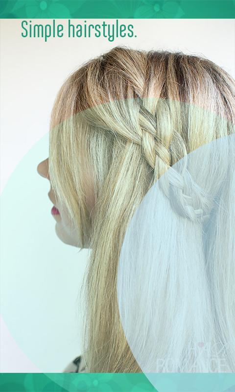 Hairstyle Tutorials for Girls layered hairstyles for Android ...