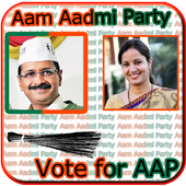 Aam Aadmi Party Photo Frame icon