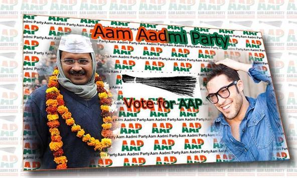 Aam Aadmi Party Photo Frame screenshot 3
