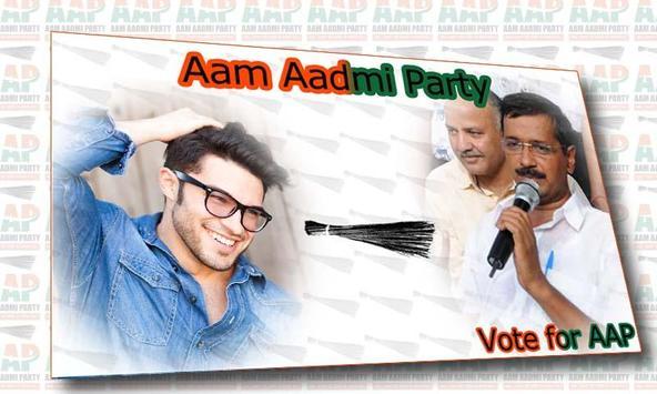 Aam Aadmi Party Photo Frame screenshot 5