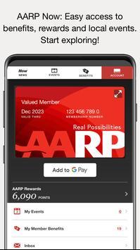 AARP Now Cartaz