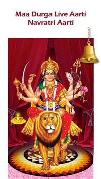 Maa Durga Live Aarti - Navratri Aarti poster