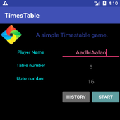 Times Table game for kids icon
