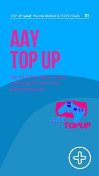 AAY TopUp Mobile: Voucher Game Murah dan Mudah! poster