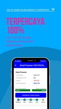 AAY TopUp Mobile: Voucher Game Murah dan Mudah! screenshot 1