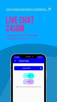 AAY TopUp Mobile: Voucher Game Murah dan Mudah! screenshot 2