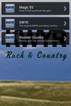 KWYR Radio poster