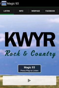 KWYR Radio screenshot 1