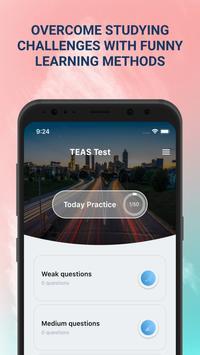ATI TEAS Practice Test Ekran Görüntüsü 5