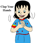 Kids Rhyme Clap Your Hands icon