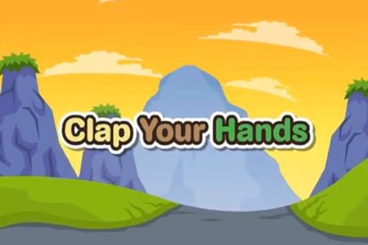 Kids Rhyme Clap Your Hands poster