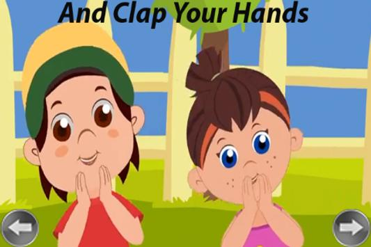 Kids Rhyme Clap Your Hands screenshot 14