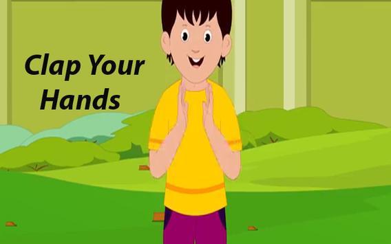 Kids Rhyme Clap Your Hands screenshot 1
