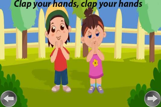 Kids Rhyme Clap Your Hands screenshot 2