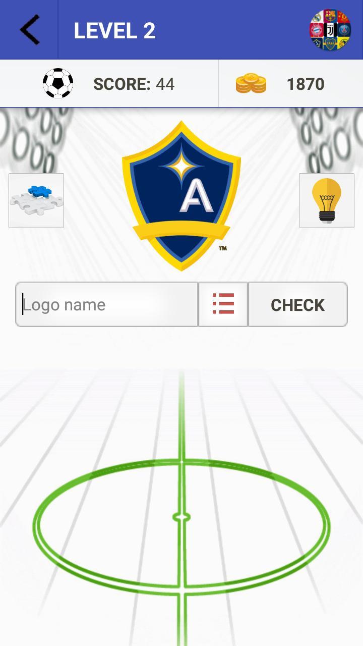 Football Club Logo Quiz cho Android - Tải về APK