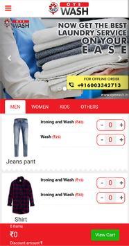 Oye Wash screenshot 2