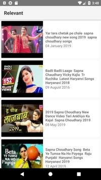 Latest Sapna Choudhary Videos screenshot 1
