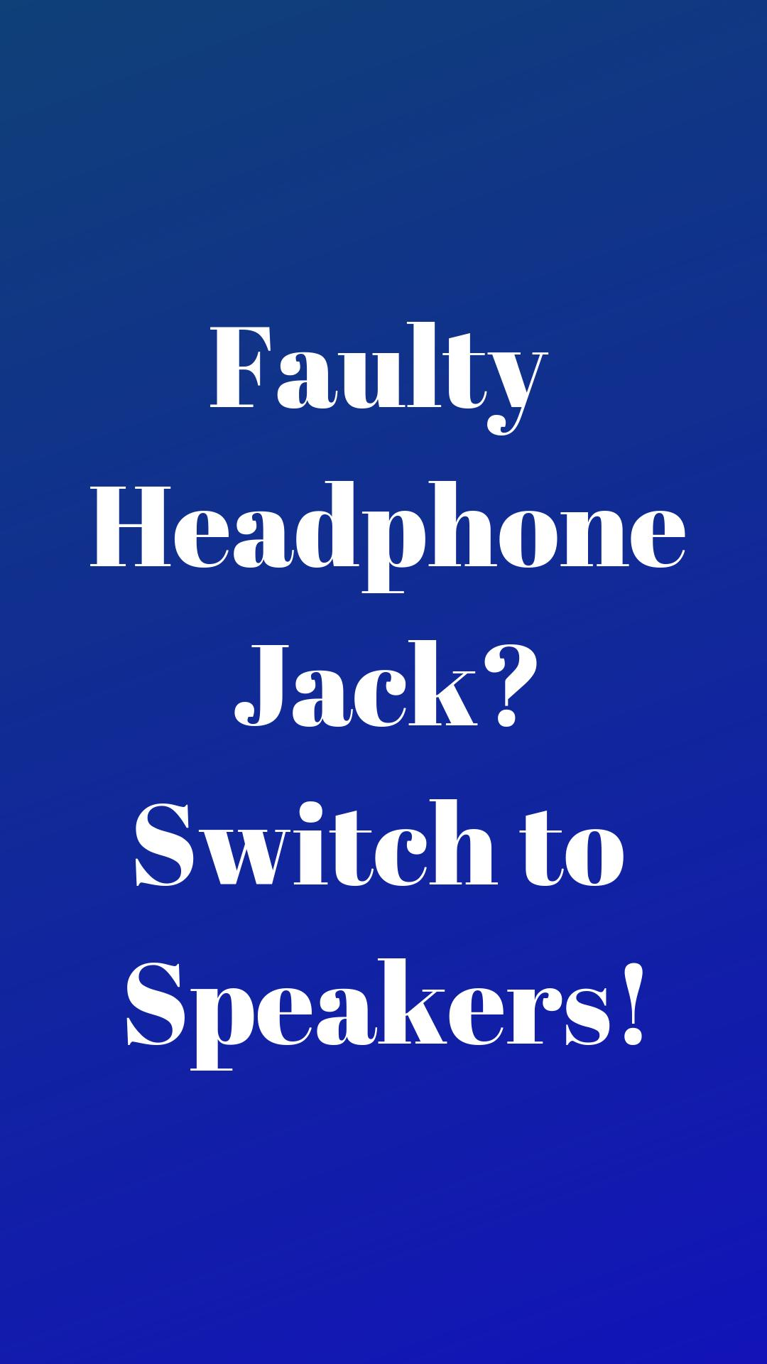 Disable Headphone(Enable Speaker) for Android - APK Download