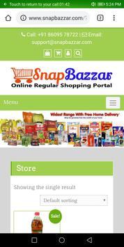 Snap Bazzar India screenshot 1