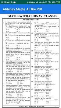 Abhinay Maths All the Pdf screenshot 3