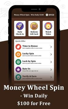 Money Wheel Spin - Win Daily $100 for Free APK [1 0] - تحميل APK