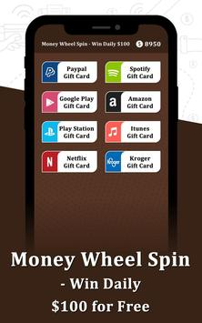 Money Wheel Spin - Win Daily $100 for Free APK App - Free