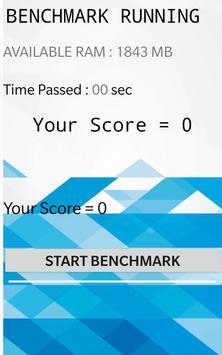 Ram Benchmark screenshot 1
