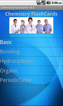 Chemistry FlashCards poster