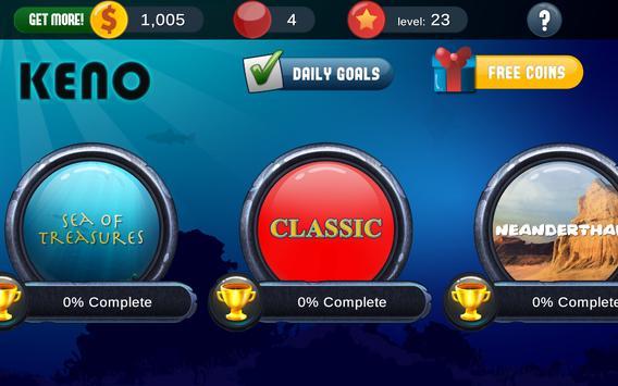 Keno Free Keno Game screenshot 13