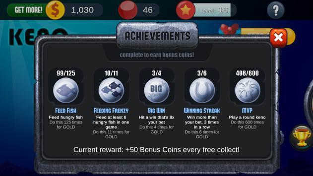 Keno Free Keno Game screenshot 4